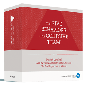 Five Behaviors Facilitation Kit Box