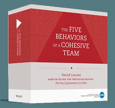 Five Behaviors Facilitation Kit Box