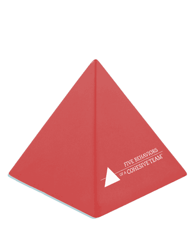 Five Behaviors Stress Pyramids