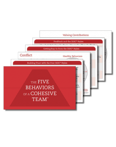 Five Behaviors Take Away Cards
